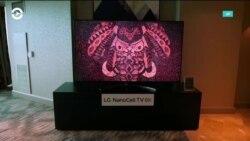 Сворачивающийся телевизор от LG, Samsung подружился с Apple и концепт от Toyota