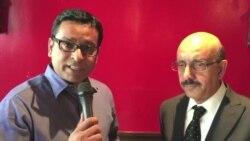 پاکستانی زیر انتظام کشمیر کے صدر مسعود خان سے بات چیت
