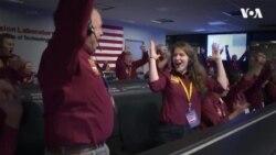Щасливі інженери NASA святкують успішне приземлення зонда InSight на Марс. Відео