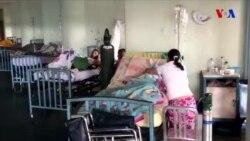 Venesuela xəstəxanalarında dözülməz şərait