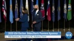 2020 USA Election: Biden/Harris Premiere apparence