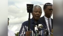 Mandela Freedom Torch Set for Auction in Boston