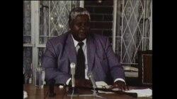Archive: Mugabe/Joshua Nkomo Press Conference