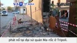 IS tấn công đại sứ quán Hàn Quốc, Ma-rốc ở Libya (VOA60)