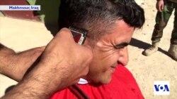 Peshmerga on the Frontline - Shaving Day