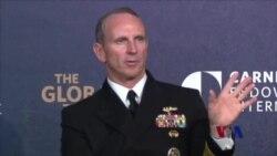 美海军作战部长:单一事件不改变美中军事关系