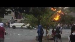 درگيری معترضان با نيروهای دولتی در ونزوئلا