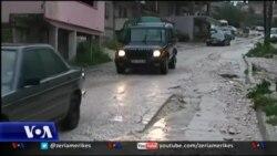 Pasojat e përmbytjeve në Gjirokastër