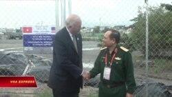 Mỹ-Việt đánh dấu việc xử lý thành công dioxin tại sân bay Đà Nẵng