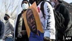 Protesti u Minnesoti uoči početka suđenja za ubistvo Georgea Floyda, 6. mart 2021. godina