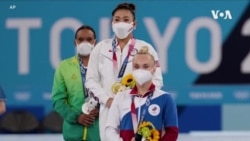 18歲苗裔美國女孩蘇尼薩·李東京奧運女子體操個人全能賽奪金