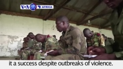VOA60 Africa - France formally ends a peacekeeping mission in CAR