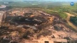 Brezilya'nın en büyük çevre felaketinde helikopterler çamura saplananları kurtarmaya çalışıyor