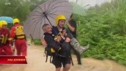 Nhật Bản, Trung Quốc: Lũ lụt, thiệt hại nặng về người và của