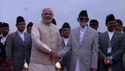 2014-08-03 美國之音視頻新聞: 印度總理訪問尼泊爾