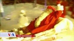 Deda Mraz krenuo na put. Njegovo kretanje prati se iz svemira