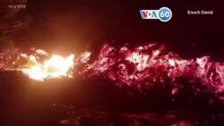 Manchetes africanas 24 Maio:Erupção vulcânica do Monte Nyiragongo, perto de Kinshasa, parece ter parado