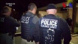 Redadas de pandilleros en EE.UU.