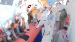2014-06-15 美國之音視頻新聞: 意大利在地中海營救近三百敘利亞移民
