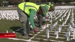 'Cánh đồng cờ trắng' tại thủ đô Mỹ tưởng niệm nạn nhân COVID