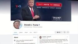 Facebook Didesak Tentukan Nasib Akun Donald Trump