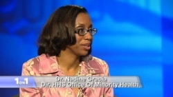Dr. Nadine Gracia, Director of HHS Office of Minority Health