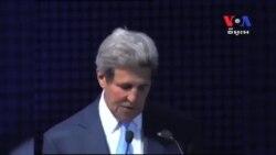 លោក John Kerry ស្វែងរកការពង្រីកទំនាក់ទំនងពាណិជ្ជកម្មជាមួយឥណ្ឌា