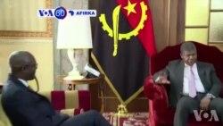 VOA60 Afirka: Mai Fafutukar Kare Hakkin Bil'adama Na Kasar Angola Ya Gana Da Shugaba Joao Lourenco
