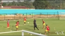 Les Léopards de la RDC reprennent l'entraînement après leur victoire sur le Maroc (vidéo)