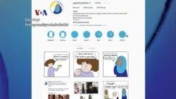 Islam di AS: Komikus Huda Fahmy