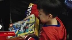 Niềm vui cho trẻ em nghèo ở Washington DC