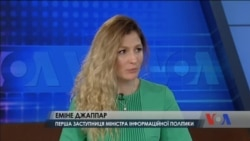 Росія перетворила Крим на «військову базу» - заступниця міністра інформаційної політики України Еміне Джаппар. Відео
