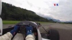 Auto eléctrico de carreras