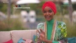 Model Berhijab Halima Aden Masuk Majalah Olahraga Edisi Pakaian Renang