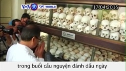 Cầu nguyện nhân 40 năm Khmer Đỏ nắm quyền ở Campuchia (VOA60)