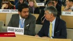 Ả rập Xê út bị khiển trách tại Hội đồng Nhân quyền LHQ