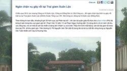 Nổi loạn ở trại giam Xuân Lộc, tù chính trị bị chuyển trại