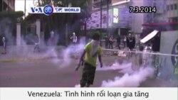 Tình hình rối loạn ở Venezuela tiếp tục leo thang (VOA60)