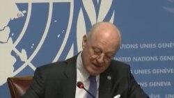 聯合國特使警告敘利亞和談失敗可能面臨更嚴重戰爭