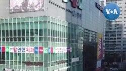 Dân Hàn Quốc xếp hàng dài cả trăm mét mua khẩu trang