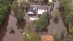美國東海岸遭遇洪災