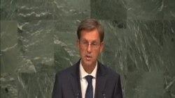 斯洛文尼亞總理:解決難民問題應從問題根源著手