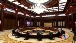 2014-11-11 美國之音視頻新聞: 經合峰會表示支持建立亞太自貿區
