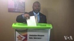 Casting Diaspora Vote ...