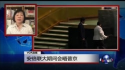 VOA连线:安倍联大期间会晤普京