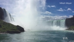 A misty visit to Niagara Falls