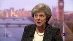 英首相星期五将访川普,说不怕挑战川普