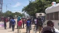 Militan Kap Reklame Pwosè Petro Caribe a Mande Jij Ramoncite Accimé Depòte l de Dosye a