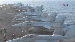 O porta-aviōes da luta anti-ISIS