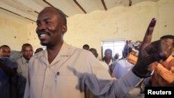 Kw'itariki ya 2/05/2011, Ahmed Haroun, kandida w'umugambwe National Congress Partymuri reta ya South Kordofan.